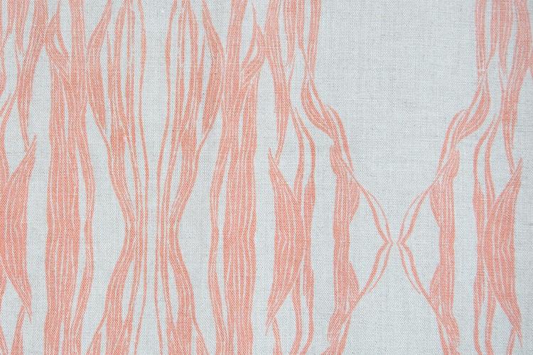 Fayce Textiles - Flow Coral Linen