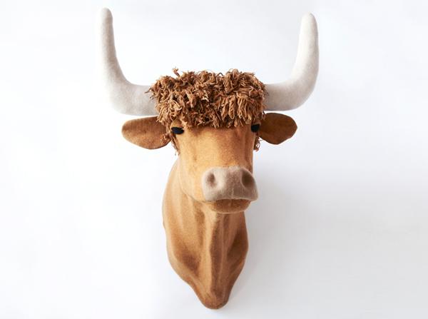 Jessica Dance - Knitted Bull