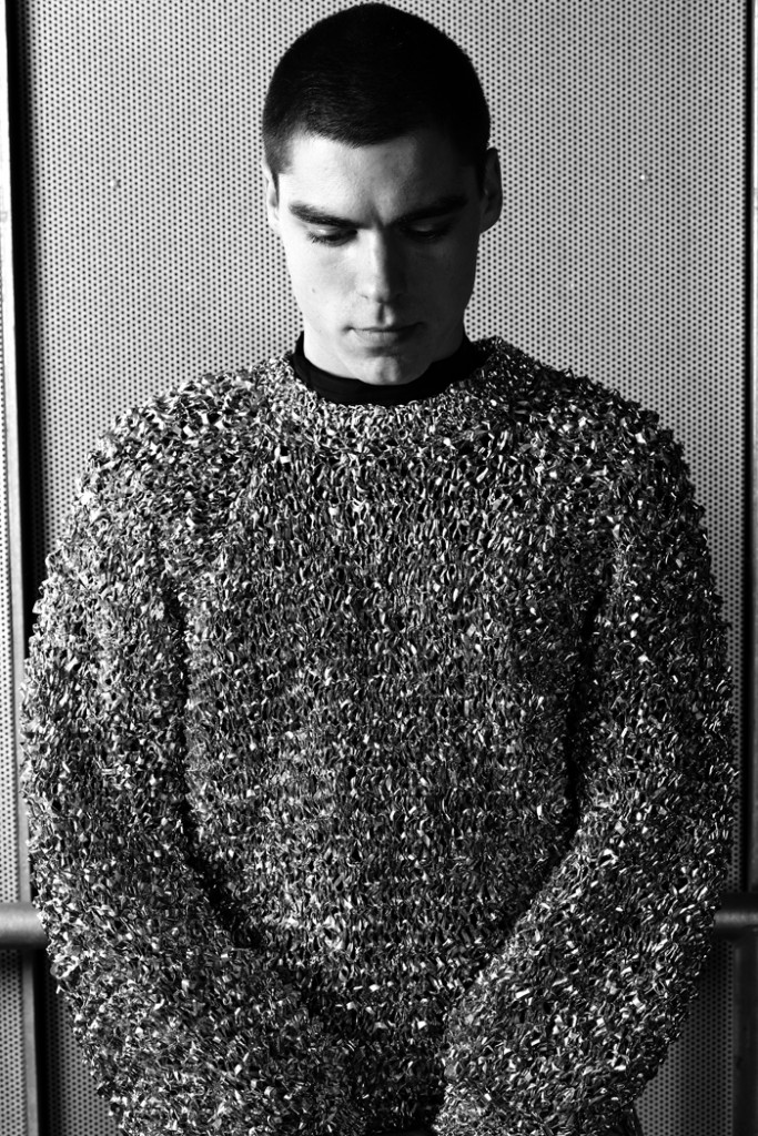 Alexandra Louise Champion Hackett - Space Foil Sweater