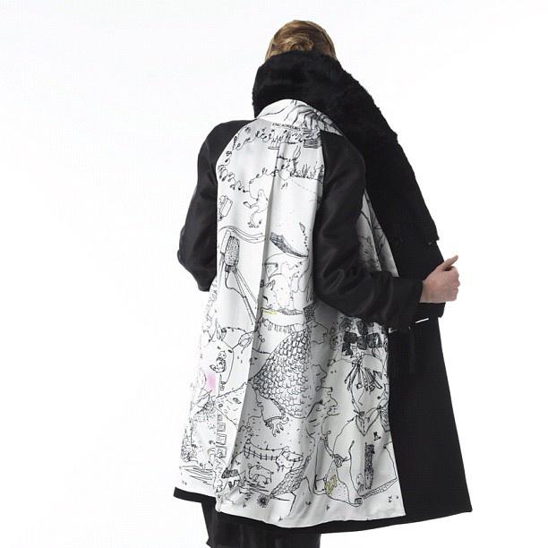 Shantell Martin - Trench Coat
