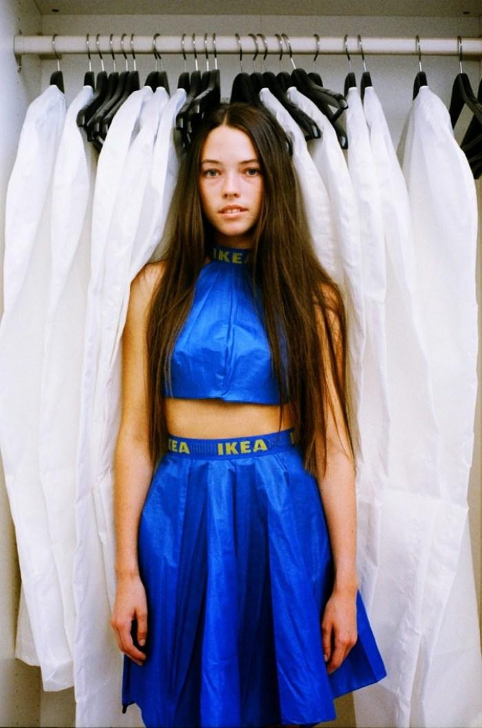 Alexandra Louise Champion Hackett - Ikea Dress
