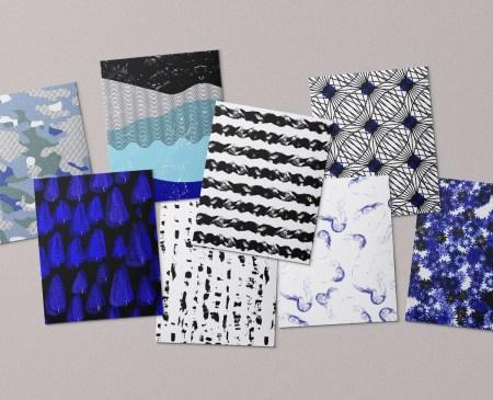 ctstudio - surface design - patterns - collectif textile