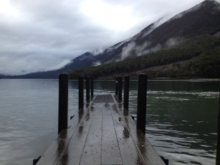 Lesser photographed jetty at the southern end of the lake.