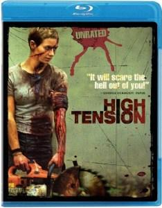 High Tension blu-ray