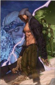 Frankenstein Vol2 No1 Virgin Variant Cover