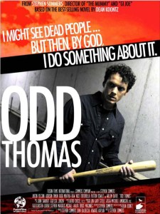 Odd Thomas UK film poster