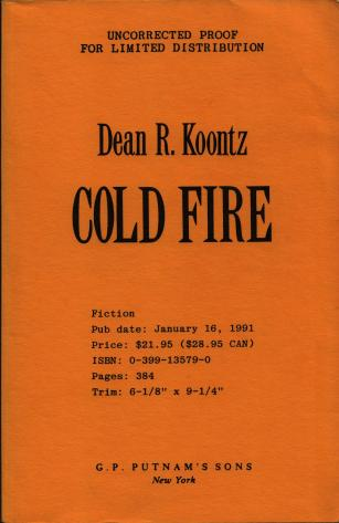 Cold Fire PROOF