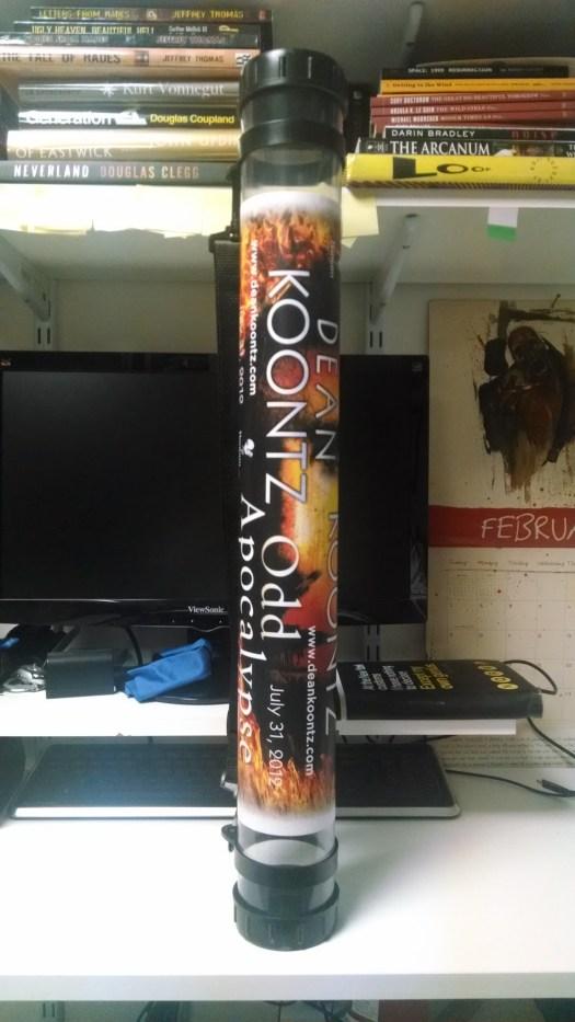 Odd Apocalypse SDCC 2012 Poster Tube (1)