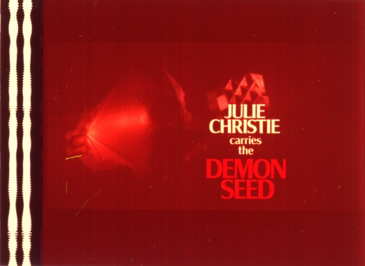 Demon Seed title film cell