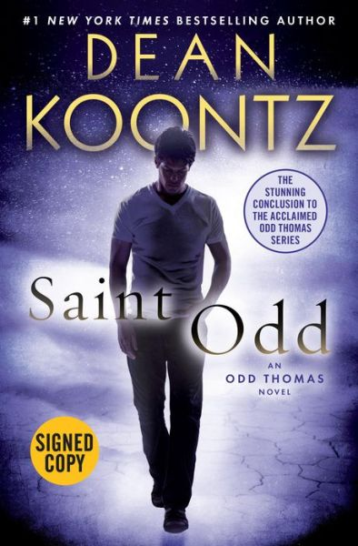 Saint Odd B&N Signed Copy