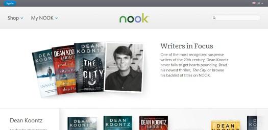 Nook UK Writer in Focus