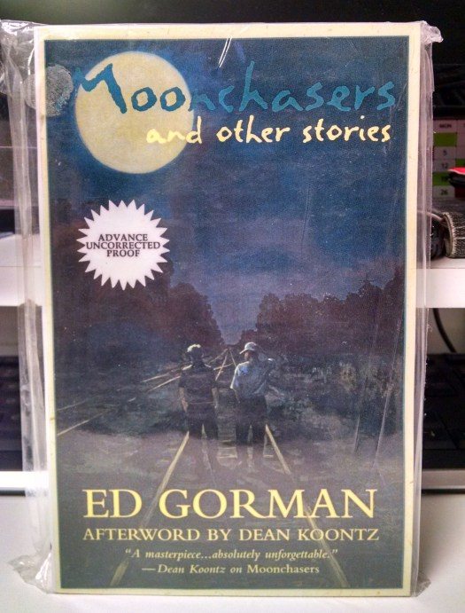 Moonchasers and Other Stories by Ed Gorman - ARC