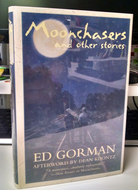 Moonchasers and Other Stories by Ed Gorman - HC