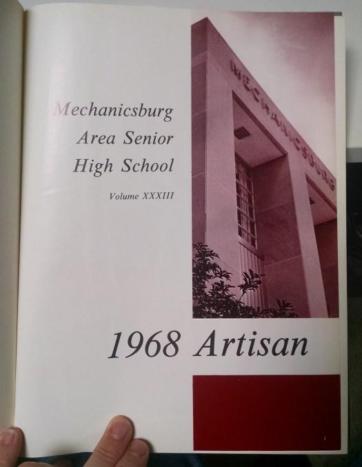 Mechanicsburg Area Senior High School Yearbook 1968 (1)