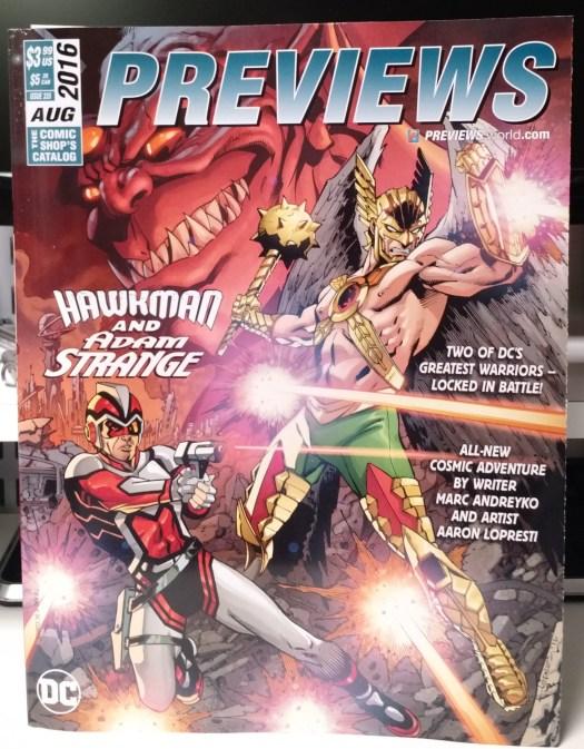 2016.08 Previews cover