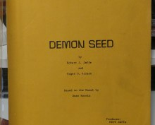 Original Demon Seed script