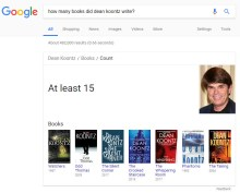 How many book has Dean written?