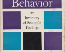 Human Behavior: An Inventory of Scientific Findings