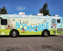 """""""Mobile library vans""""?"""