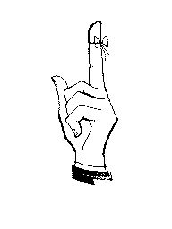 string on finger