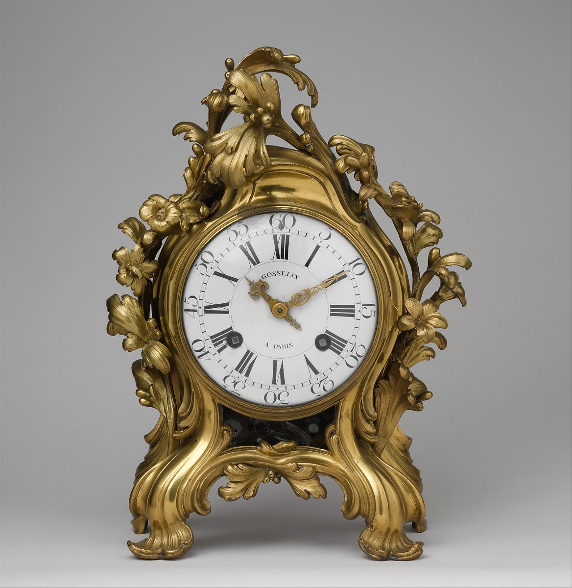 Clockmaker Probably Jean Philippe Gosselin Clock
