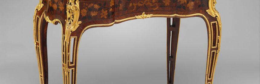 Jean Francois Oeben Mechanical Table French The Me