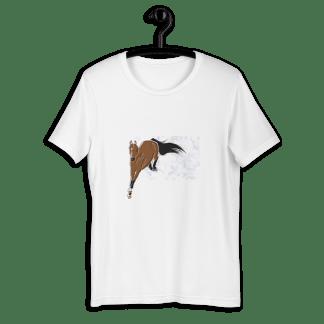 poney t-shirt cso cheval équitation