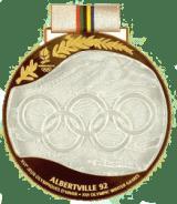 1992 Albertville médaille de vainqueur recto