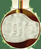 1992 Albertville médaille de vainqueur verso