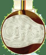 1992 Albertville winner medal verso olympic memorabilia