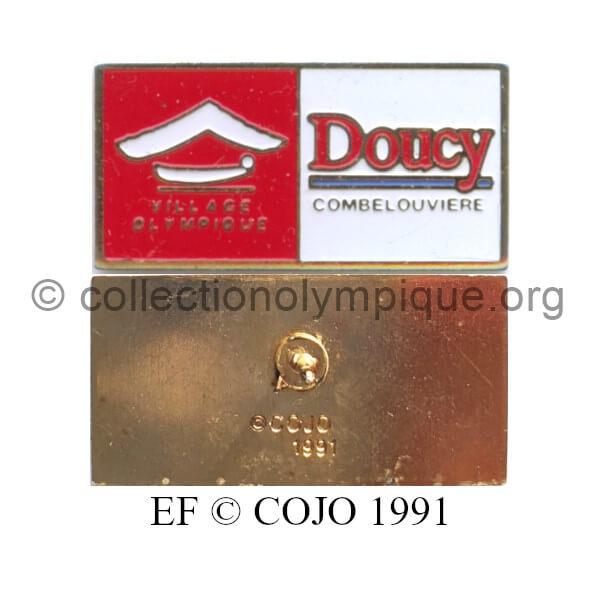 131_11 sites olympiques Doucy Combelouvière émail à froid © COJO 1991