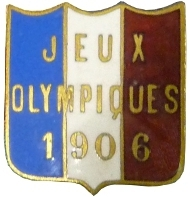 Athènes 1906 badge France