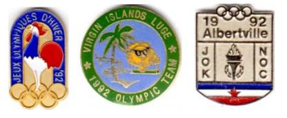 Albertville 1992 pin's CNO