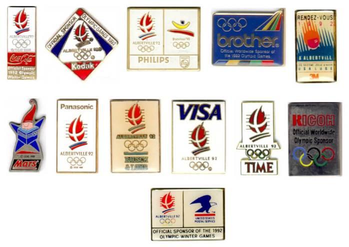 Albertville 1992 pin's Club TOP