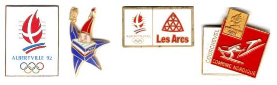 1992 Albertville official pins
