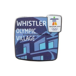 2010 Vancouver olympic village pin, Whistler