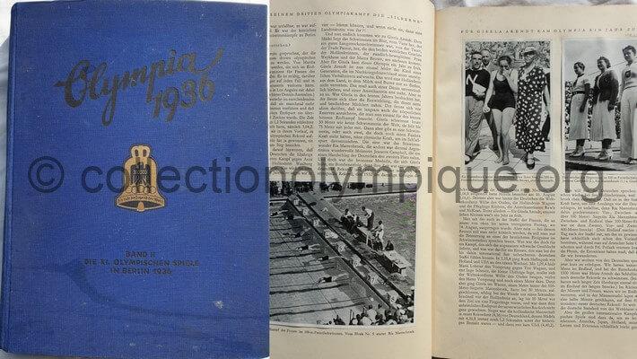 librairie 1936 Berlin volume 2 complet
