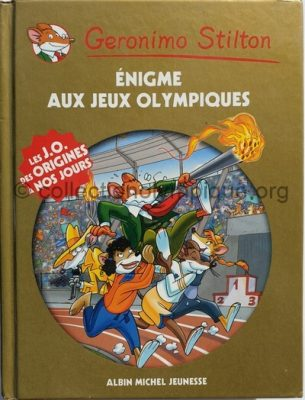 Geronimo Stilton enigma at the Olympic Games