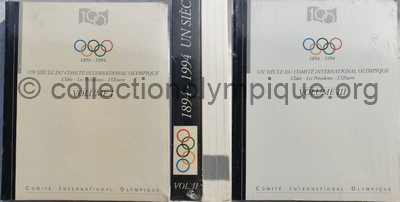 A century of the International Olympic Committee