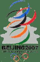 Logo foire olympique Pékin 2007