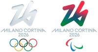 Logo Jeux Olympiques Milan-Cortina 2026