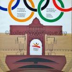 1992 Barcelone programme olympique de la cérémonie d'ouverture, 25/07/1992 32 x 29 cm