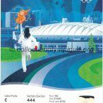 2010 Vancouver billet olympique cérémonie d'ouverture 12/02/2010, 21,9 x 10,1 cm