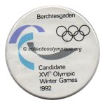 Winter 1992 Berchtesgadenbid city badge