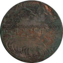1976 Innsbruck médaille de participant, verso