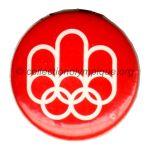 1976 Montreal badge 44 mm, logo