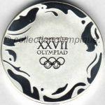 2000 Sydney médaille olympique de participant recto, athlètes et officiels - 50 mm