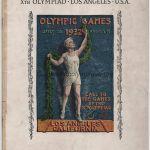 1932 Los Angeles programme olympique cérémonie ouverture