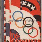 1928 Amsterdam programme olympique journalier