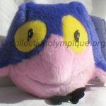 Sukki le hibou, peluche hauteur 15,5 cm mascotte olympique